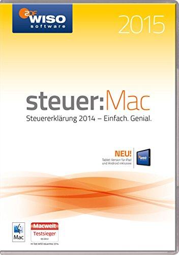 WISO steuer:Mac 2015 (für Steuerjahr 2014 / Frustfreie Verpackung)