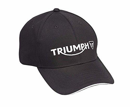 Triumph Motorcycles Logo Cap Hat Black MCAS15308