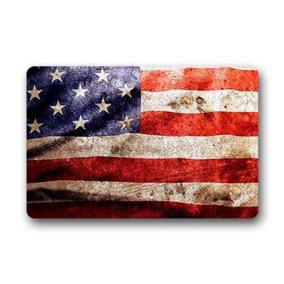 Dalliy us Flagge. Fu?matten Doormat Outdoor Indoor 23.6