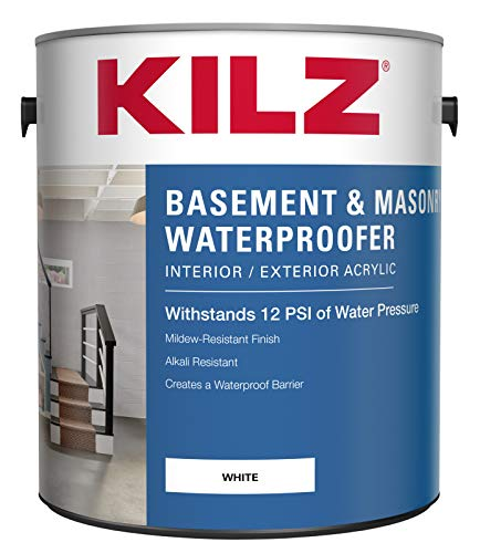 KILZ Interior/Exterior Basement and Masonry Waterproofing...