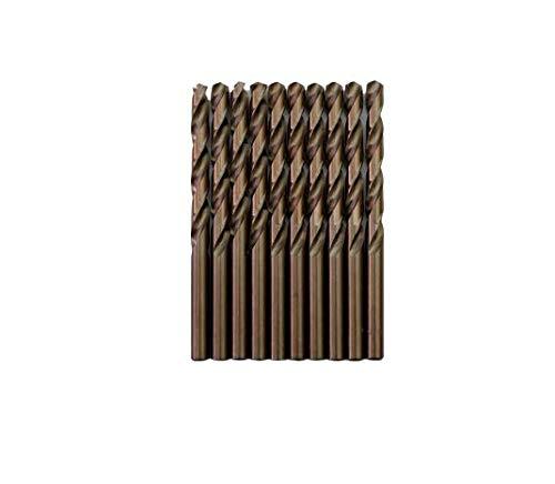 Broca para metal HSS DIN338 M35 cobalto de 8mm (paquete de 10 unidades)