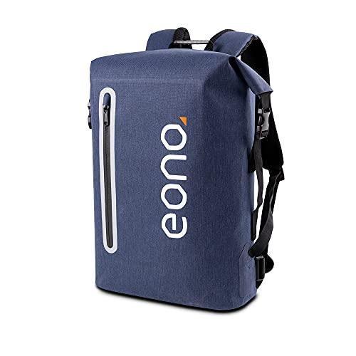 Eono by Amazon - Wasserdichter Rucksack für Schule Uni Reisen Freizeit Job mit Laptopfach & Nachtreflexion,15,6-Zoll- Laptop Rucksack