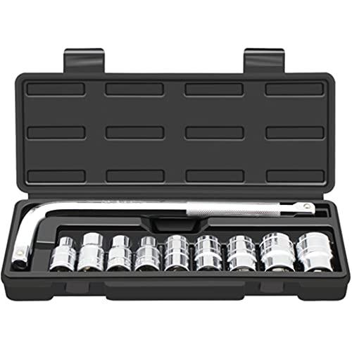 UXZDX 10 Piezas/Conjunto de Herramientas Especiales para el Cambio de neumáticos del automóvil, la Llave de zócalo de Rueda Universal de Ahorro de Mano de Obra