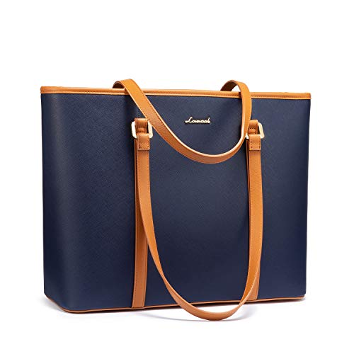 Laptoptas 15,6 inch handtas dames shopper grote aktetas dames businetas dames draagbaar schoudertas dode tas voor business/school/reis-MEHRWEG
