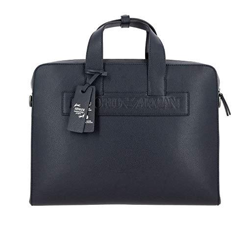 EMPORIO ARMANI Logo lettering briefcase