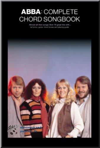 ABBA - Complete Chord Songbook - Gitarre Akkorde