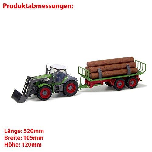 RC Auto kaufen Traktor Bild 6: Riesenr XXL RC ferngesteuerter Traktor mit Anhänger Trecker*