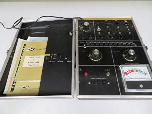 Dyanscan B&K MODEL 607 SOLID STATE TUBE TESTER NB9