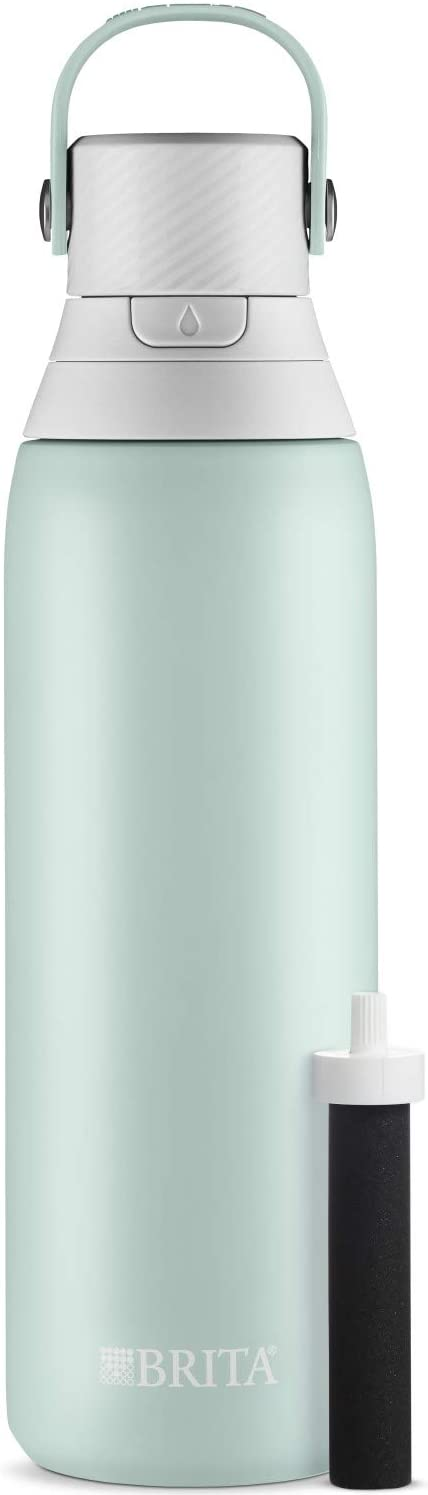 brita stainless steel water filter | Essentials for the Spring Season | Eat. Drink. Work. Play.