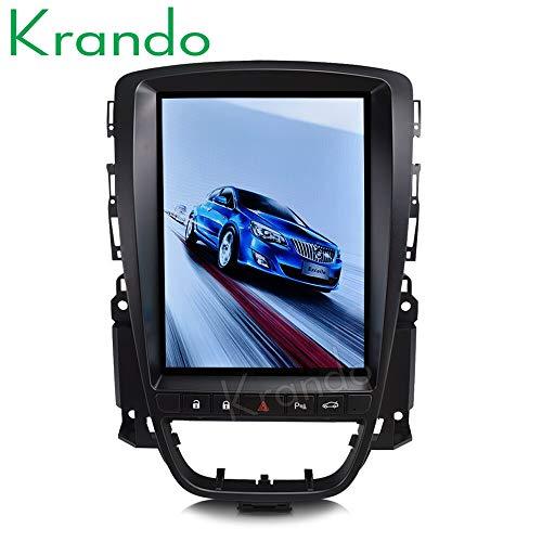 """Autoradio Krando Android 10.4\"""" Tesla Vertical Radio für Buick Excelle Opel Astra 2010-2014"""