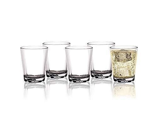 BRUNNER Tritan Trinkgläser Mehrweg Trinkbecher 0,2l, BPA-frei, unzerbrechlich, Kunststoff