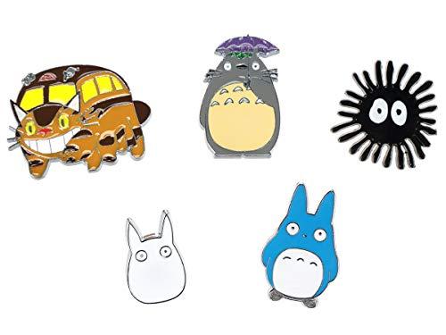 CoolChange Totoro Chibi Pin Set