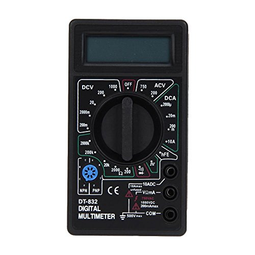 everpert dt832 Digital LCD-Voltmeter Amperemeter Ohm Tester Digital Multimeter