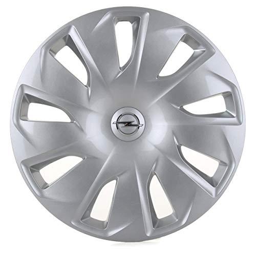 GM Opel reserveonderdelen, 1 x wieldop, zilverkleurig, verchroomd, 16 inch, Astra K 13409775 1006368