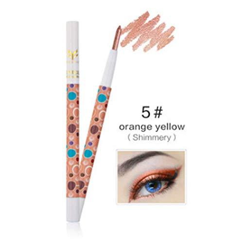 EgBert 1 Pc Surligneur Imperméable Glitter Ombre À Paupières Stylo Mate Fard À Paupières Crayon Outil De Maquillage - # 05