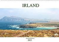 Irland - Grafschaft Kerry (Wandkalender 2022 DIN A2 quer): Besuchen Sie mit uns die eindrucksvolle und raue Landschaft der Grafschaft Kerry im Suedwesten Irlands. (Monatskalender, 14 Seiten )