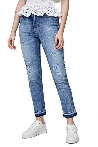 Guess Jean Stretch Skinny Destroy Girly Jeans - Femme
