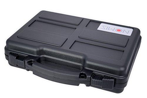 Nomis Leichter Pistolenkoffer Waffenkoffer Gun Case 31 x 25 x 8cm schwarz