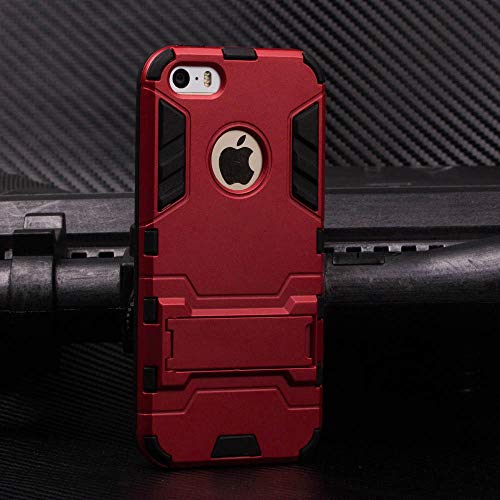 Cocomii Iron Man Armor iPhone SE/5S/5C/5 Funda Nuevo Robusto