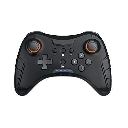 CHANGTRANSLATION Gamepad del Controlador inalámbrico Bluetooth Compatible con Dispositivos móviles Asa cómoda y Hermosa