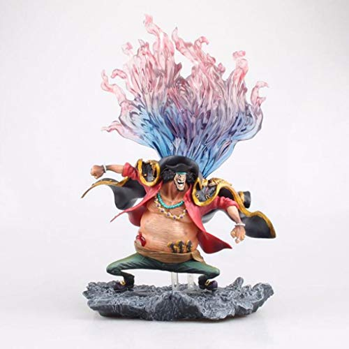 LQZYTY Barbanegra Marshall D. Teach-Oscuro Oscuro de Frutas Cuatro emperadores 4 Emperador Animado Figura de una Pieza Figura de acción Colección Modelo de Juguete