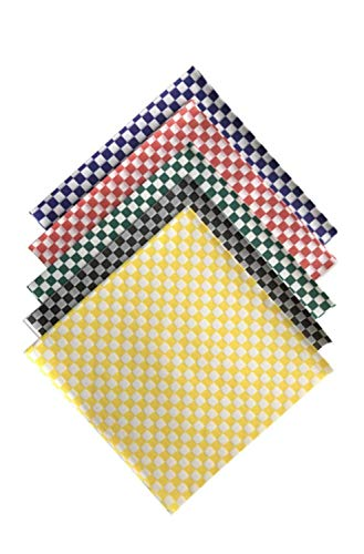 Variety Pack Checkered Paper Wrap 12 x 12 inch Deli Basket Liners