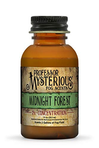 Professor Mysterious Midnight Forest Fog Machine Scent, ounce, 2x concentrate, treats 2 gallons