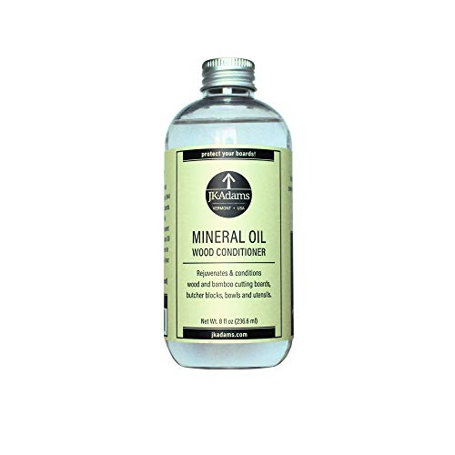 J.K. Adams 8-Ounce Mineral Oil Wood Conditioner