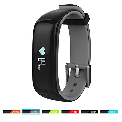 Mengen88 Smart Armband Bluetooth pols bloeddruksportstep waterdicht met twee kleuren armband voor Android iOS mobiele telefoon