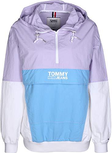 Tommy Jeans Retro W Chaqueta Cortavientos Pastel Lilac/Multi