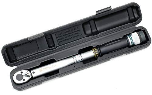 Pro-Lift-Gereedschappen momentsleutel, 1/4 inch, automatische ratel, 6 Nm, 30 Nm, draaimoment wielmoersleutel, 1/4 inch, wielwisselsleutel