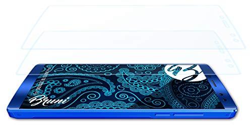 Bruni Schutzfolie kompatibel mit DOOGEE BL12000 Pro Folie, glasklare Bildschirmschutzfolie (2X)