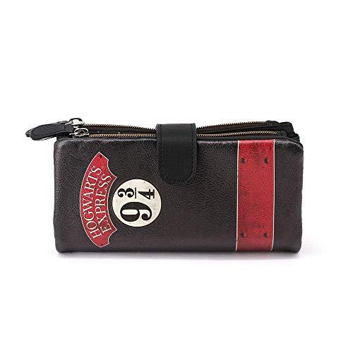 Karactermania Harry Potter Express-Lange Sweet Geldbörse Münzbörse, 19 cm, Black