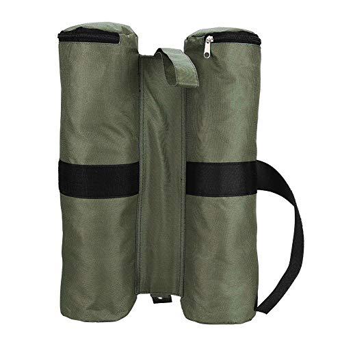 Bolsas de Pesas para Toldo Parasol Emergente Pie de Tienda Al Aire Libre Refugio para El Sol Piernas Bolsa de Arena Bolsa de Peso para Piernas de Tienda [Arena No Incluida]