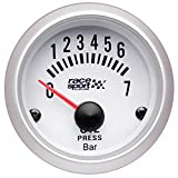 Sumex Gaug524 - Manómetro Presión Aceite'Race Sport', Diámetro 52 mm, 12V,