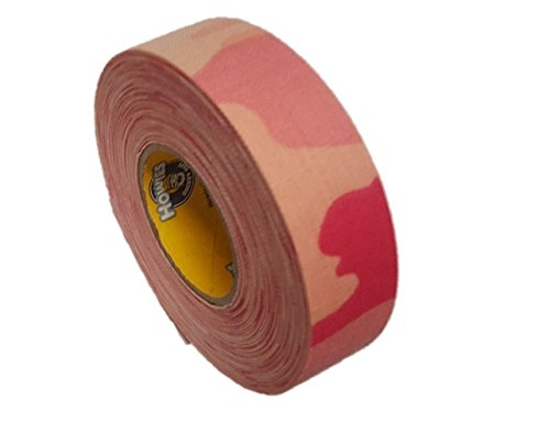 Schlägertape Profi Cloth Hockey Tape 25mm f. Eishockey pink camo, 18 m