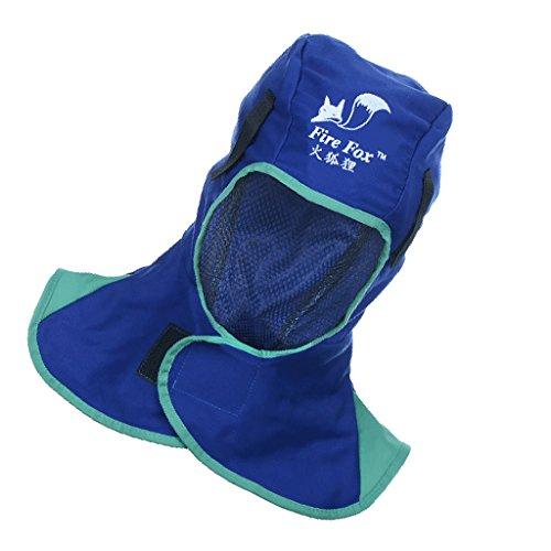 Casco Sweat Maschera di Saldatura Protezione Casco Cappello - Blu