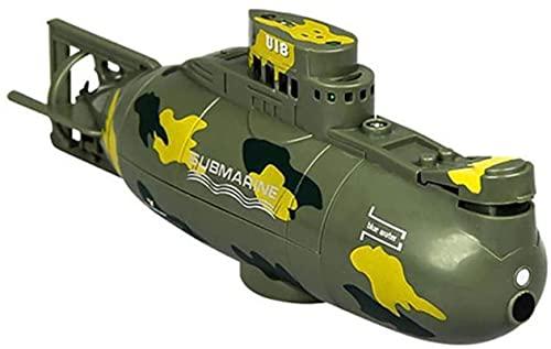 Mini RC Submarino Radio Control Remoto Barco Impermeable Submarino Buceo Divere Toy Mejor Modelo DE Regalo para NIÑOS