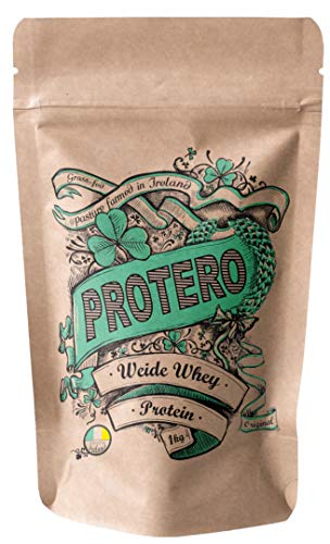 Protero Weide Whey Protein aus irischer Weidemilch - 100% natürliches Eiweißpulver - Neutral 1kg