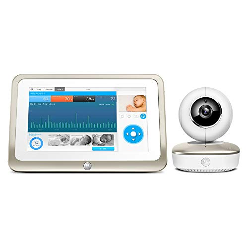 Motorola Smart Nursery 7 Dual Mode Baby Monitor with Camera and 7 inches Touch Screen Parent Monitor and Wi-Fi Viewing (Renewed)
