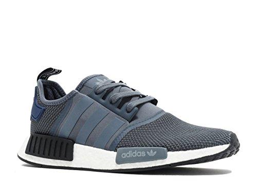 adidas Mens NMD_R1-Mens Casual Grey/Blue/Black - S76842 (8)