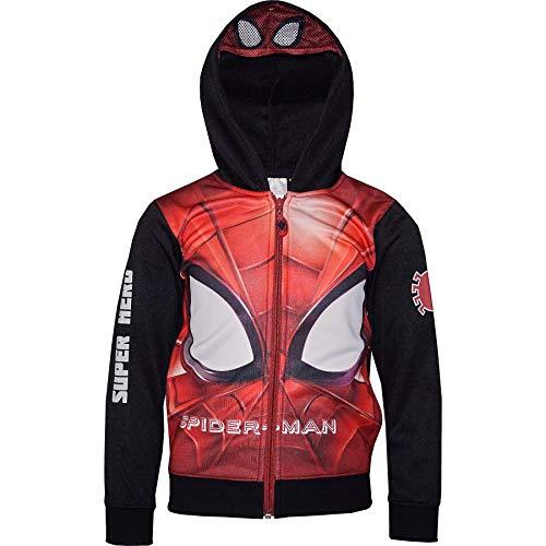 Spider-Man - Sudadera - para niño - 0331RH [Negro - 3 años - 98 cm]