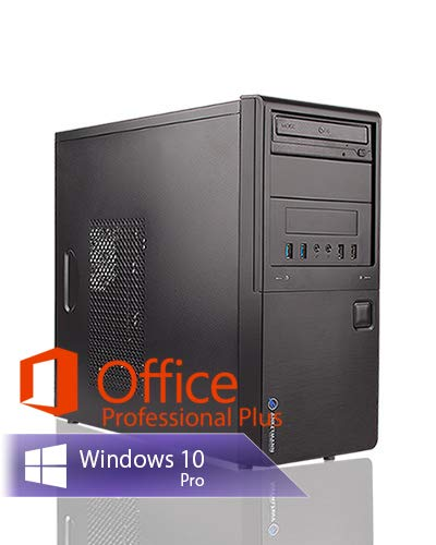 Ankermann Work Business Office Happy Day PC Intel i5 4570 4X 3.20GHz NVIDIA GeForce GT 16GB RAM 1TB SSD Windows 10 PRO Leise W-LAN Office Professional