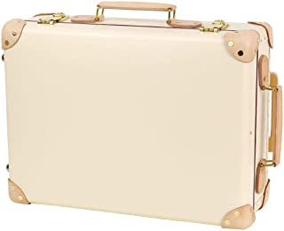 [グローブトロッター] GLOBETROTTER サファリ 18インチ TROLLEY CASE スーツケース2輪 IVORY & NATURAL [並行輸入品]