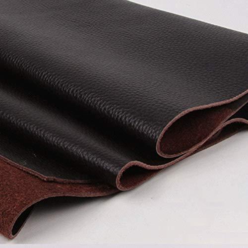 SUNYUAN Cuero de vaca Material Tela Pieza de cuero Cartera de cuero Zapatos DIY Leathercraft Accesorios