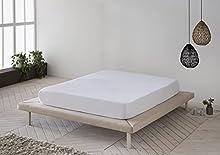 Protector de colchón, Cubre colchón de Rizo Suave, Impermeable, antiácaros 105x190/200 - Cama 105 (Todas Las Medidas)
