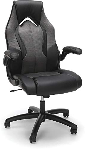 High-Back Racing Style Bonded Leather Gaming Chair