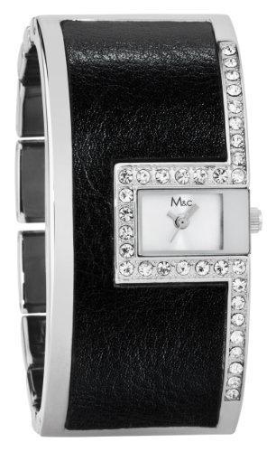 M&c Damenarmbanduhr FC0364, Armband aus Metall, Farbe: Silber