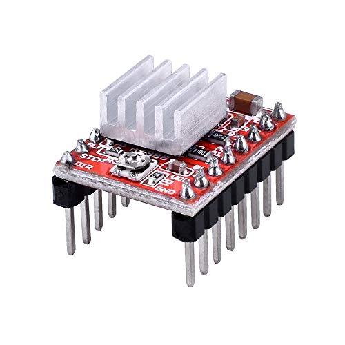 F-MINGNIAN-TOOL, 1 stuk voor 3D-Printer StepStick A4988 DRV8825 Stepper Motor Driver Carrier Heat Sink Reprap 1,4 1,5 1,6 RAMPs MKS Gen raadgever V1.4