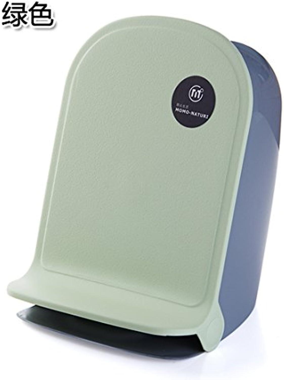 Abfalleimer Mülleimer Mülleimer Abfalleimer Mülleimer Papierkorb, Home, die Füße Pedal Mülleimer Wohnzimmer Küche Badezimmer Desktop Simple Storage Gesundheit Barrel 22  25  29 cm, grün B06Y2XHJ3X | Schön und charm